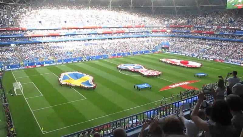 14 финала ЧМ-2018 Англия - Швеция