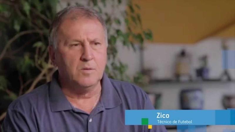 Zico quer Aécio Neves presidente