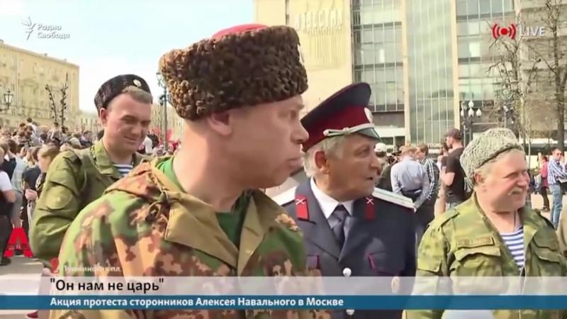 Засланные казачки и путиНОДы - провокации на Пушкинской в Москве