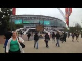 Eminem at the Wembley