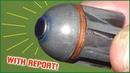 A shotgun slug that acts like a HESH tank round