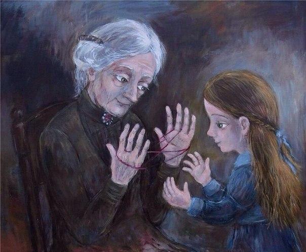 Тепло детских воспоминаний в работах грузинской художницы Нино Чакветадзе.