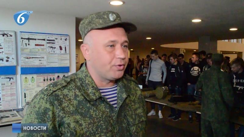 Военно-патриотическое мероприятие в КСКЦ Стирол