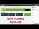 What's Rumble and How Can I Sign Up For New Account