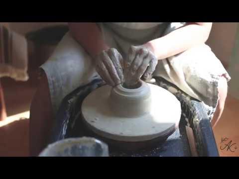 Изготовление чайника на гончарном круге