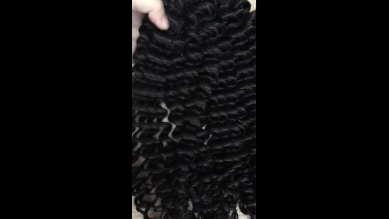 Bulk hair deep wavy