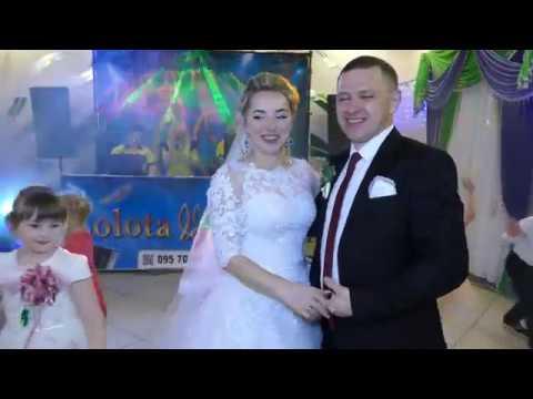 Перший танець Юрія та Мар'яни. ( 21|04|2018 ) р. Терези