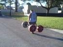 Strongman Competitor Elliott Hulse Workout Footage