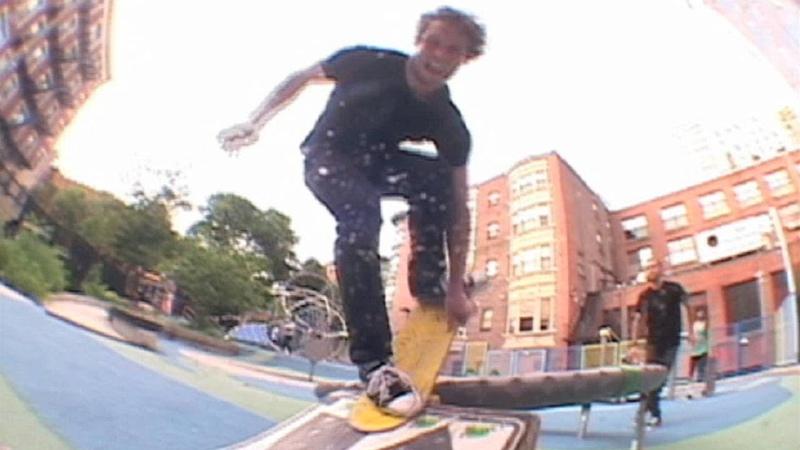 Fancy Lad's Trampoline Jump Video