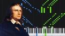 Etude No. 6 in A Minor - Franz Liszt [Piano Tutorial] (Synthesia)