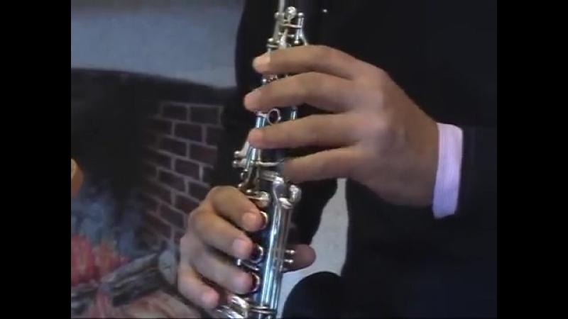 Каприччио № 5 (Паганини).Clarinet Prof.Massimiliano Montanaro.
