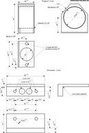 чертеж механической обманки с миникатализатором