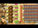 Homing Thistle Fire Peashooter vs 999 Zombies Pvz 2