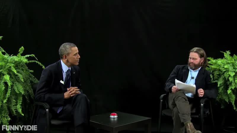 President Barack Obama Between Two Ferns with Zach Galifianakis