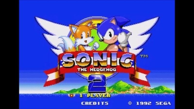 Megaman X in Sonic 2 (Genesis) - Longplay