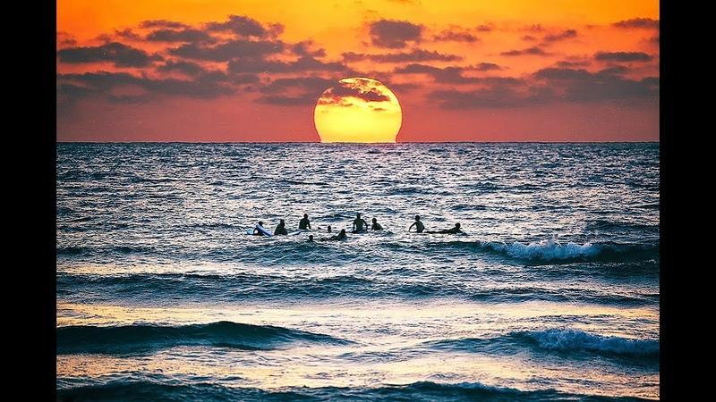 Звуки Средиземного моря волны релакс Sea sounds for relaxation meditation reading sleep asmr