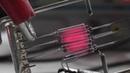 Odpalanie rozwalonej żarówki Tungsten Halogen filament burnout in free air