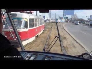 Tatra T3A #5131 Ещё один трамвай из Риги в Харькове :)