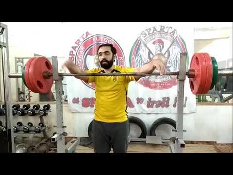 Тренировка № 17. Спортсмен-сыроед приседает 100 кг на 15 раз ! Слабо (14.11.2018Ateks Motivator)