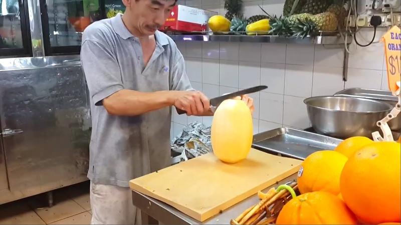 5 FRUIT NINJA in The World 🍉 Amazing Fruits Cutting Skills 🍍 Awesome Street Food