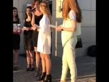 Мы на модном показе школы моделей!