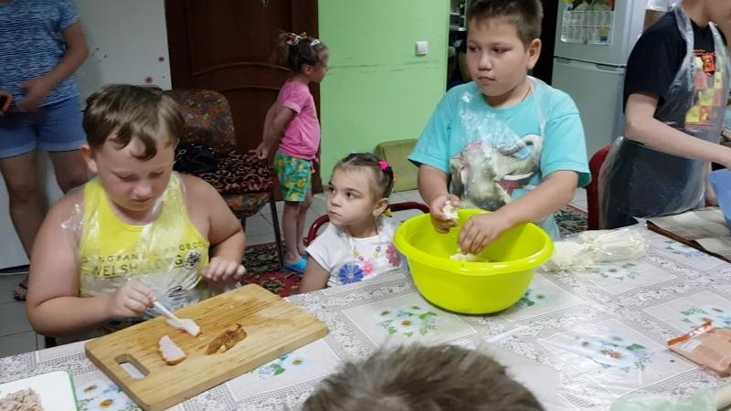 Дом Милосердия для больных детей. Мастер класс. Выпечка
