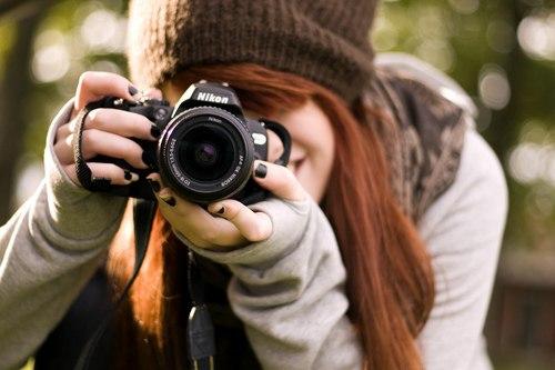 Учимся правильно держать фотоаппарат