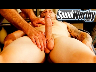 Spunkworthy – blake is back for his first happy-ending massage from a guy