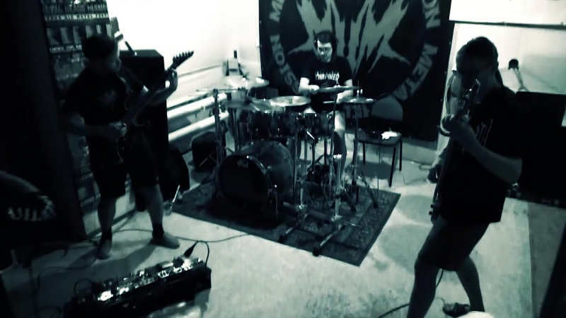Fetal Decay rehearsal ( new Criminal Element song )