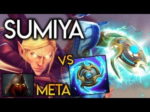 Sumiya Invoker God OFFLANE Dominator META vs Immortal III Zeus Tempest Dota 2