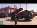 North Korea holds mass parade to celebrate Foundation Day