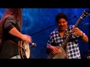 Is that a bass banjo?? dueling banjos... Sort of with Barry Waldrep Oteil Burbridge
