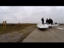 Реактивный самолет с самодельным двигателем 😏