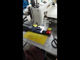 bag/safety belt automatic sewing machine with Insulating board pattern mould