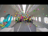 S7 Airlines  OK Go, Upside down  Inside out - #ГравитацияПростоПривычка