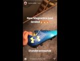 Трент Александр-Арнольд представил свои новые бутсы в #InstagramStories