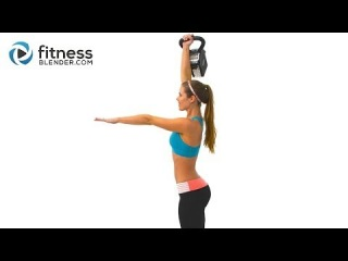 Kelli's 5 Minute Kettlebell Workout for Butt and Thighs - Fast & Effective Kettlebell Workout Video