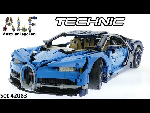 Lego Technic 42083 Bugatti Chiron - Lego Speed Build Review