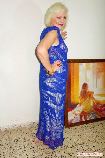 蓝色的连衣裙 - maomao - 我随心动