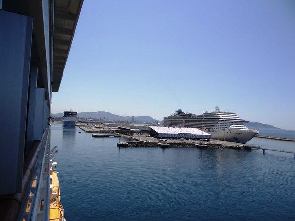 Круиз на борту Costa Serena, июль 2012
