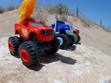 BLAZE and The Monster Machines- Adventure in The Desert, New Series, FUN FOR KIDS.