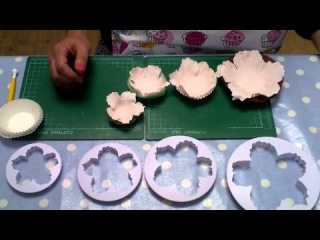 Как сделать пион из мастики пошаговое