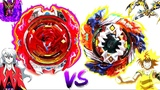 UNLEASHED SS Geist Fafnir 8'.Ab vs Revive Phoenix 10.Fr-Free vs Phi-Beyblade Burst Super Z Battle!!