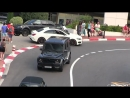 700HP Brabus B70 Mercedes G63 AMG in Monaco - EPIC SOUND!