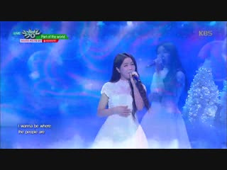 Solar (Mamamoo) - Part Of World + Reflection + Let It Go @ Music Bank 181221