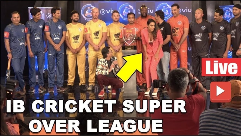 Virendra Sehwag, KAIF Others Attend IB Cricket Super Over League With Nia Sharma