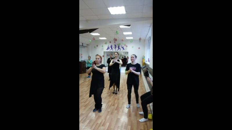 мастер класс Юлии Плахотиной по фламенко.