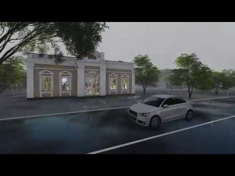 Рендер в LUMION 8 Pro пам'ятка архітектури