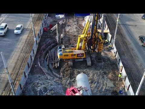 Как строят новую станцию метро в Днепре