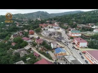 Сегодня в Ножай-Юрте открылся новый Дворец культуры.